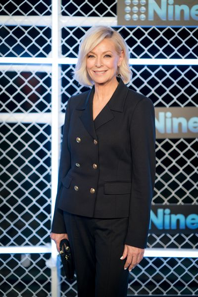 Liz Hayes at the 2019 Nine Upfronts, Sydney, October 17, 2018