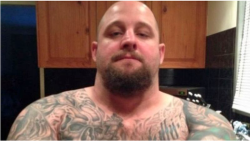 Rick Maddison died in a hail of bullets last May after killing police officer Brett Forte.