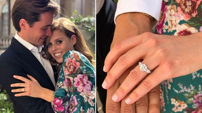 Princess Beatrice's Art Deco-Victorian ring
