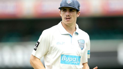 Sean Abbott returns to training one week after freak accident that claimed the life of Phillip Hughes