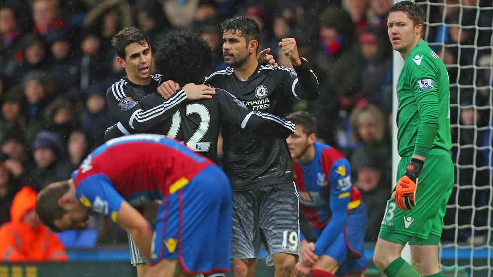 Chelsea return to form with win at Palace