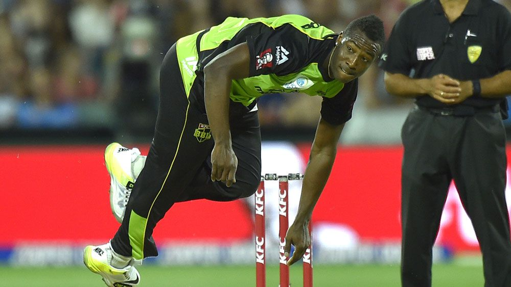 Andre Russell. (AAP)