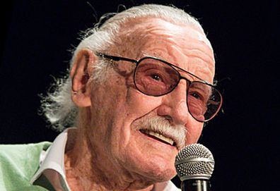 Stan Lee speaking at convention (Getty)