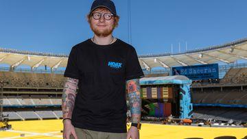 Ed Sheeran ready for record-breaking tour