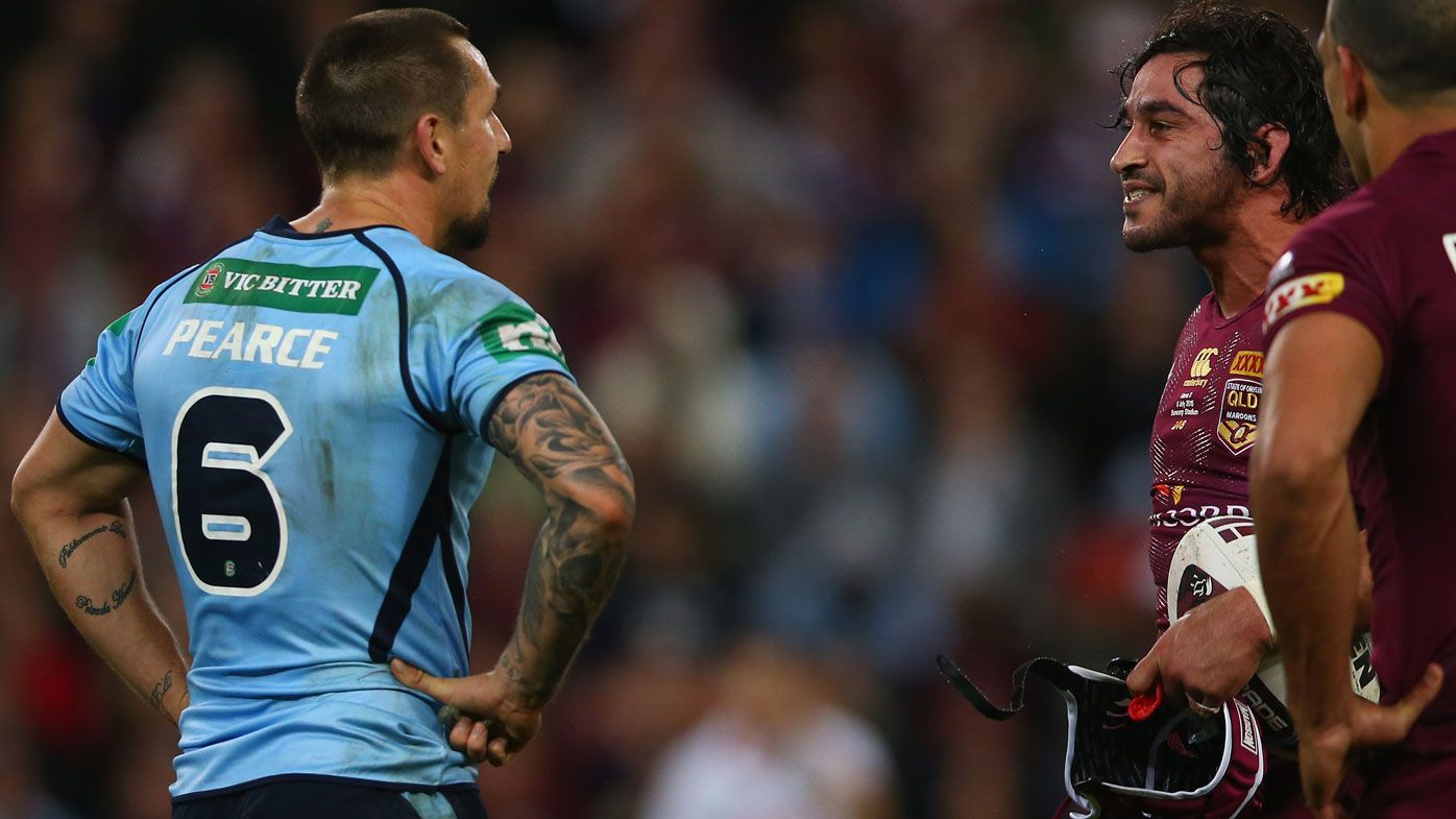 Johnathan Thurston's Origin III warning about 'scarred' Mitchell Pearce