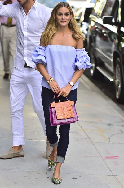 Works for both formal and casual, night and day as Olivia Palermo proves.