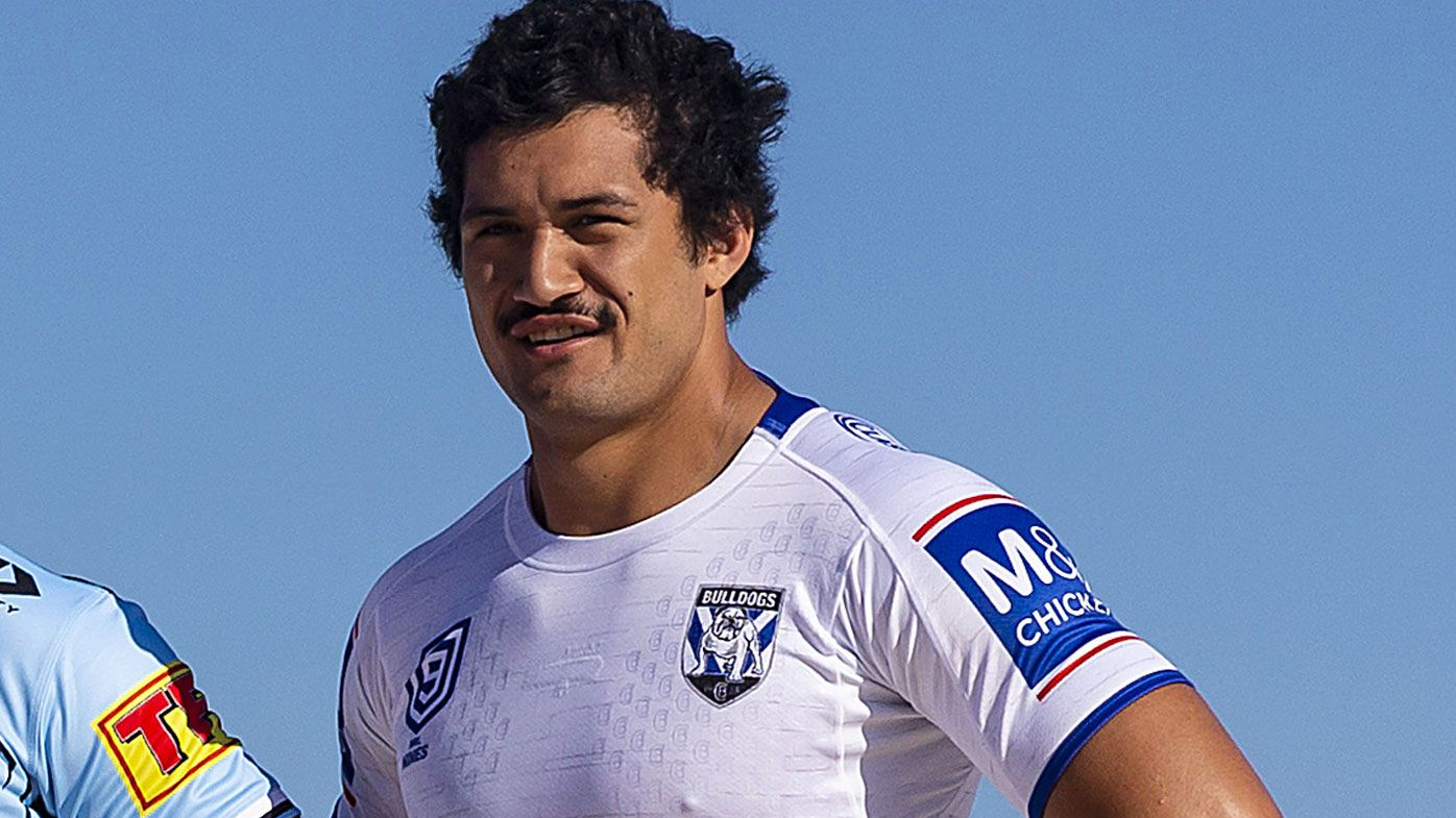 Corey Harawira-Naera of the Bulldogs