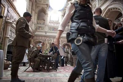 The second season of <i>Downton Abbey</i> will bring World War I to life.