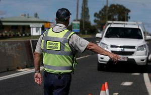 Queensland increases border checks as South Australia's ban is due to take effect