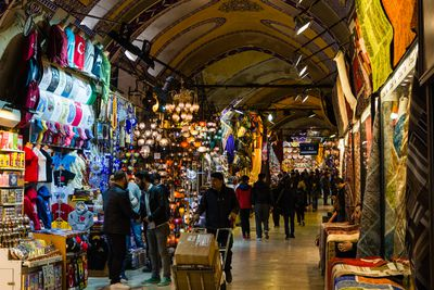 <strong>The Grand Bazaar, Istanbul, Turkey</strong>