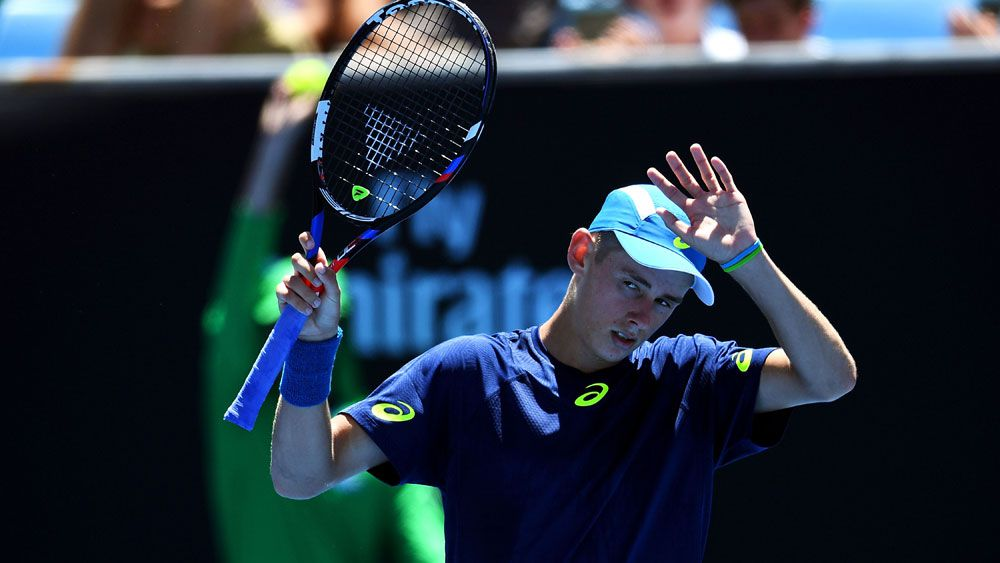 Shades of Hewitt in De Minaur's Open win