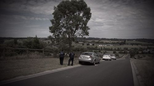 Lauren and Ben were driving to a lookout at Chirnside Park in Melbourne's north-east when the tragic accident occurred.