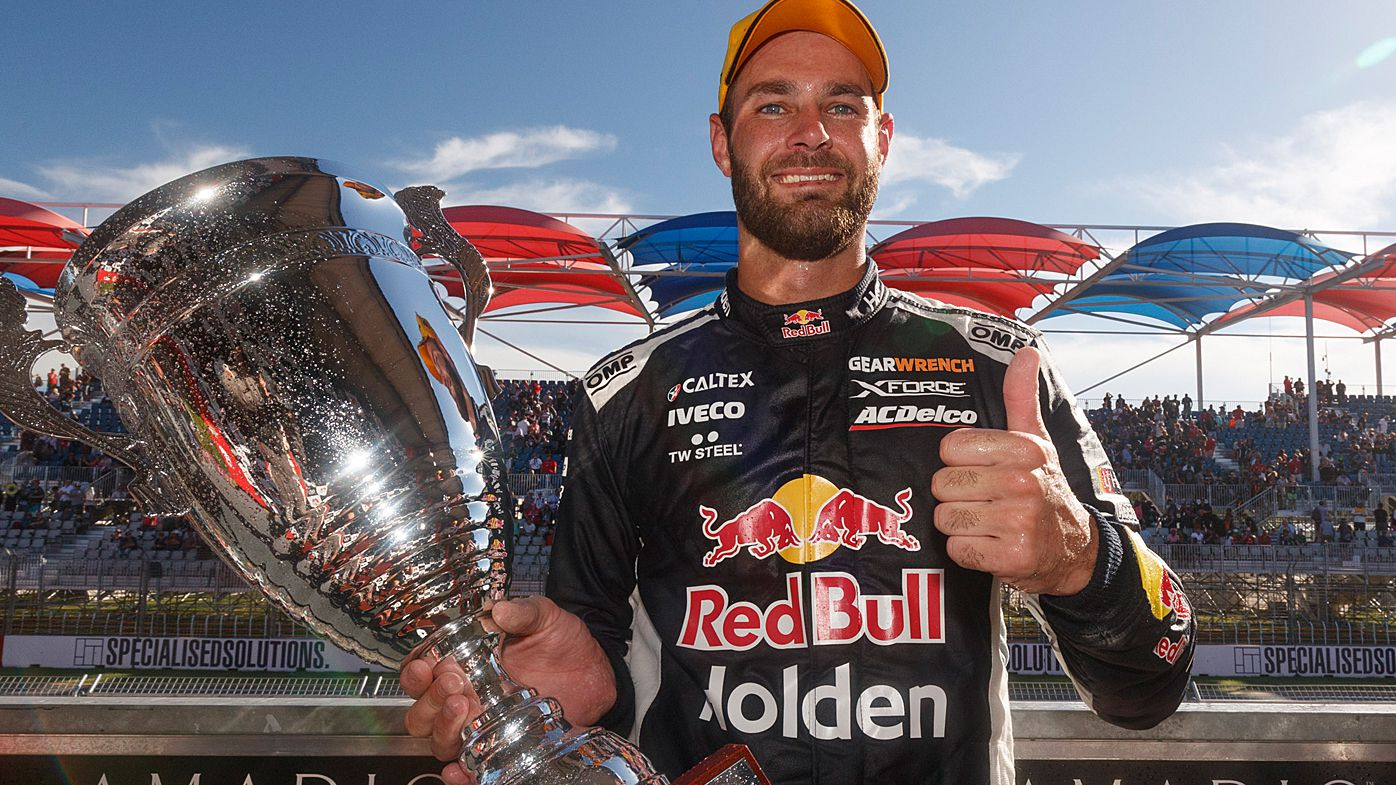 Motorsport: Red Bull Holden Racing's Shane Van Gisbergen wins Supercars opener in Adelaide