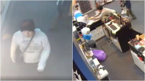The offenders remain on the run. (Victoria Police)