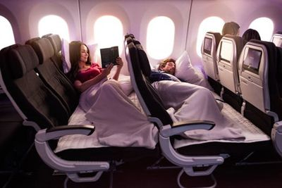 Air New Zealand's Skycouch