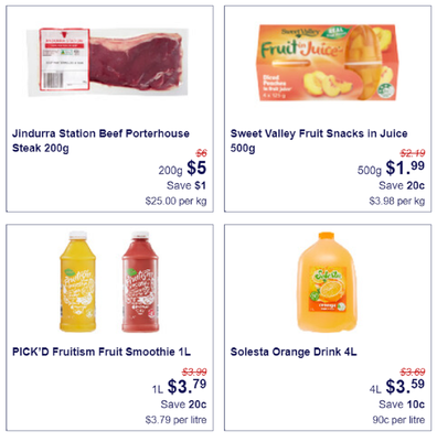 Aldi has announced permanent reductions to much of its core products.