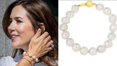 Princess Mary's South Sea pearl bracelet