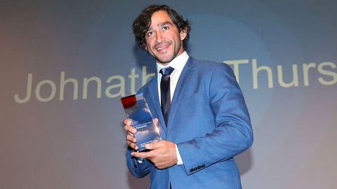 Queensland Australian of the Year winner NRL player Johnathan Thurston