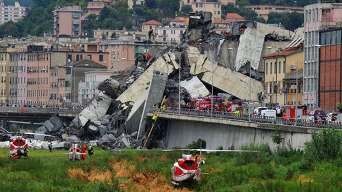 "Genoa Mayor Marco Bucci told local media the disaster was ""not absolutely unexpected""."