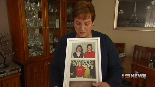 Julie Lane wants justice for her mother's murder. (9NEWS)