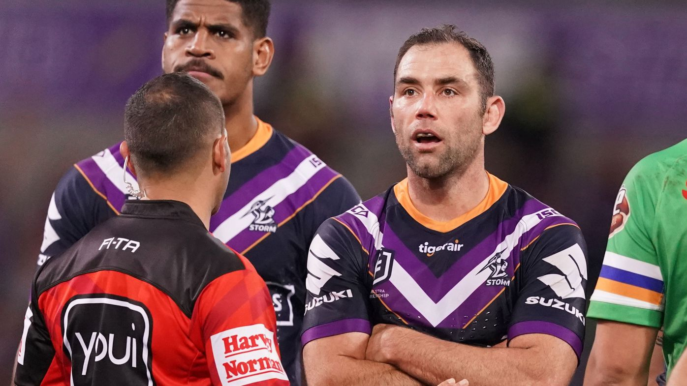 Elliott Whitehead hits back at Cameron Smith referee whinge with graphic video