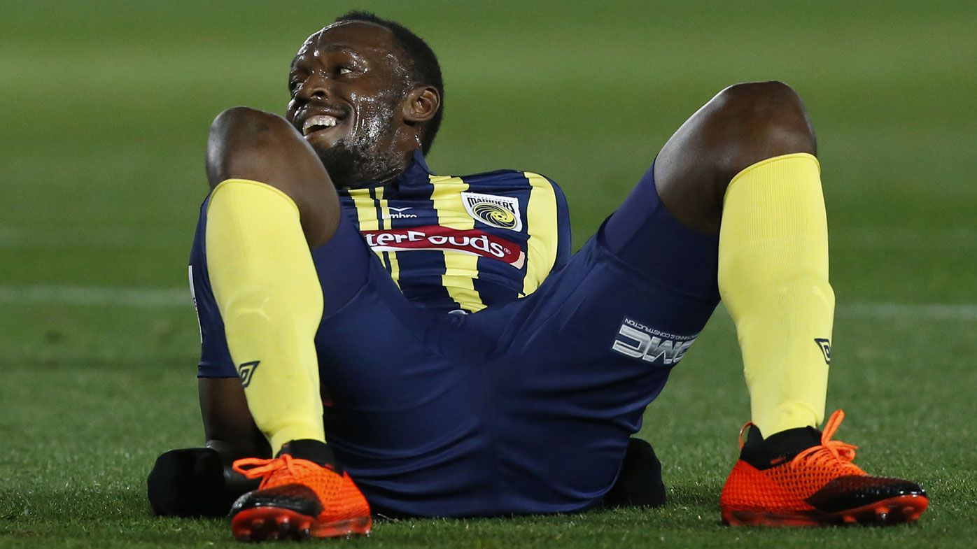 Usain Bolt 'not fit' enough for A-League, says Central Coast coach Mike Mulvey