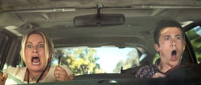 A driving lesson in the movie Alexander and the Terrible, Horrible, No Good, Very Bad Day.