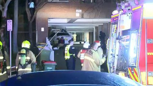 Homeless man trying to keep warm dies in Sydney unit fire