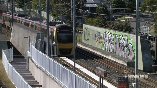 Queensland Rail has apologised for the lengthy cancellations overnight. (9NEWS)