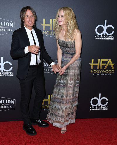 Nicole Kidman and Keith Urban at the 22nd Annual Hollywood Film Awards, November, 2018