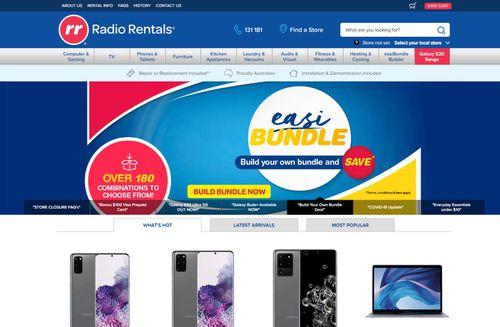 Radio Rentals will be migrating online.
