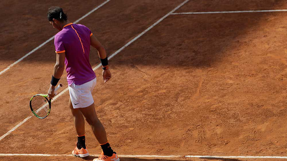 Thiem ends Nadal's streak at Italian Open