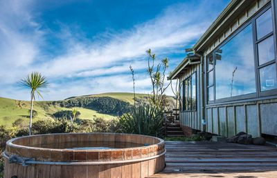 3. West Coast private hilltop hideaway – Bethells Beach, Auckland
