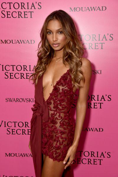 Jasmine Tookes in Massachiat the 2017 Victoria's Secret Fashion Show After Party