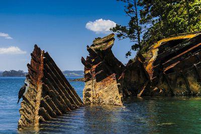 <strong>Shipwreck, Moturekareka Island&nbsp;</strong>