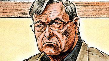 Illustration of George Pell (AAP)