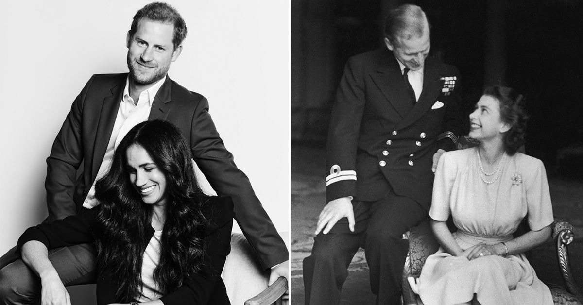 Why the newest portrait of Harry and Meghan looks so familiar – 9Honey