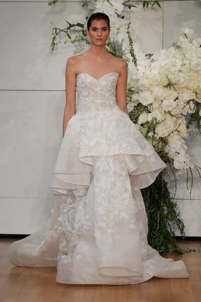 Monique Lhuillier, New York Bridal Fashion Week, 2017