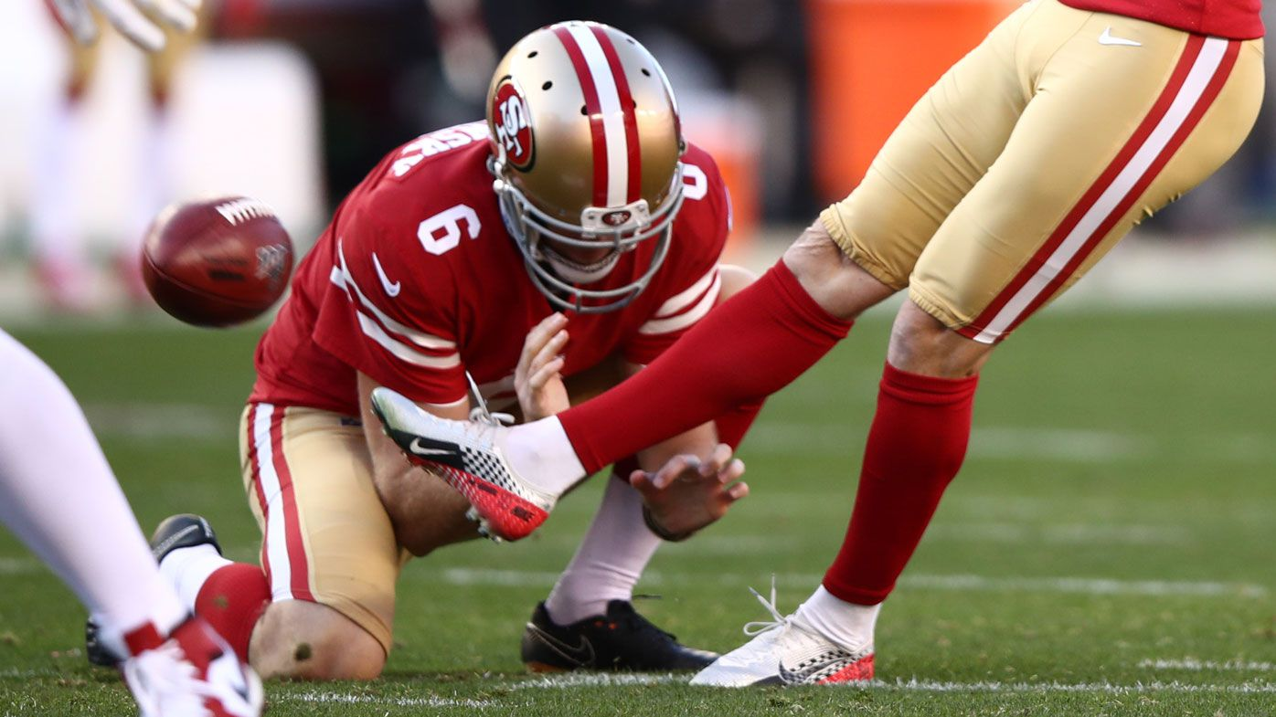 Australian punter Mitch Wishnowsky one win away from NFL's Super Bowl with 49ers