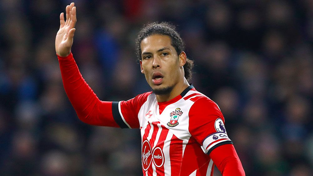 Liverpool land Virgil van Dijk from Southampton for world record transfer fee