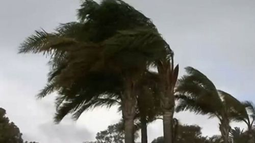 A second cold front is bearing down on the country's south-east with severe weather warnings for damaging winds in place.