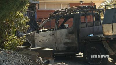 Man shot and cars torched in Canberra's south