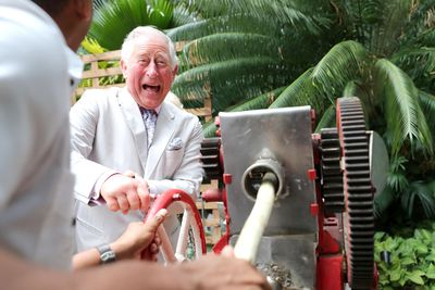 Prince Charles in Havana, March 2019