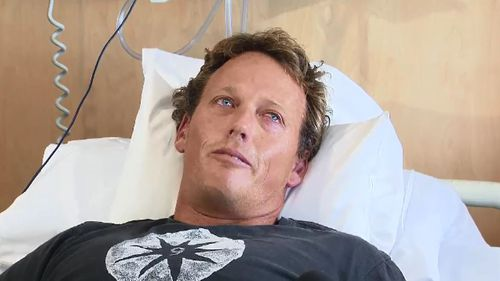 Surfer Lee Johnson made a miracle escape from a shark attack.