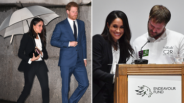 To-be-royal Meghan avoids awkward mix-up at awards night