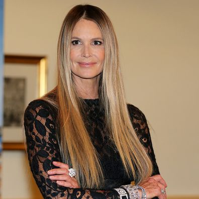 Elle Macpherson during the photocall prior the Opera Ball Vienna ( Wiener Opernball ) at Grand Hotel on February 28, 2019 in Vienna, Austria.