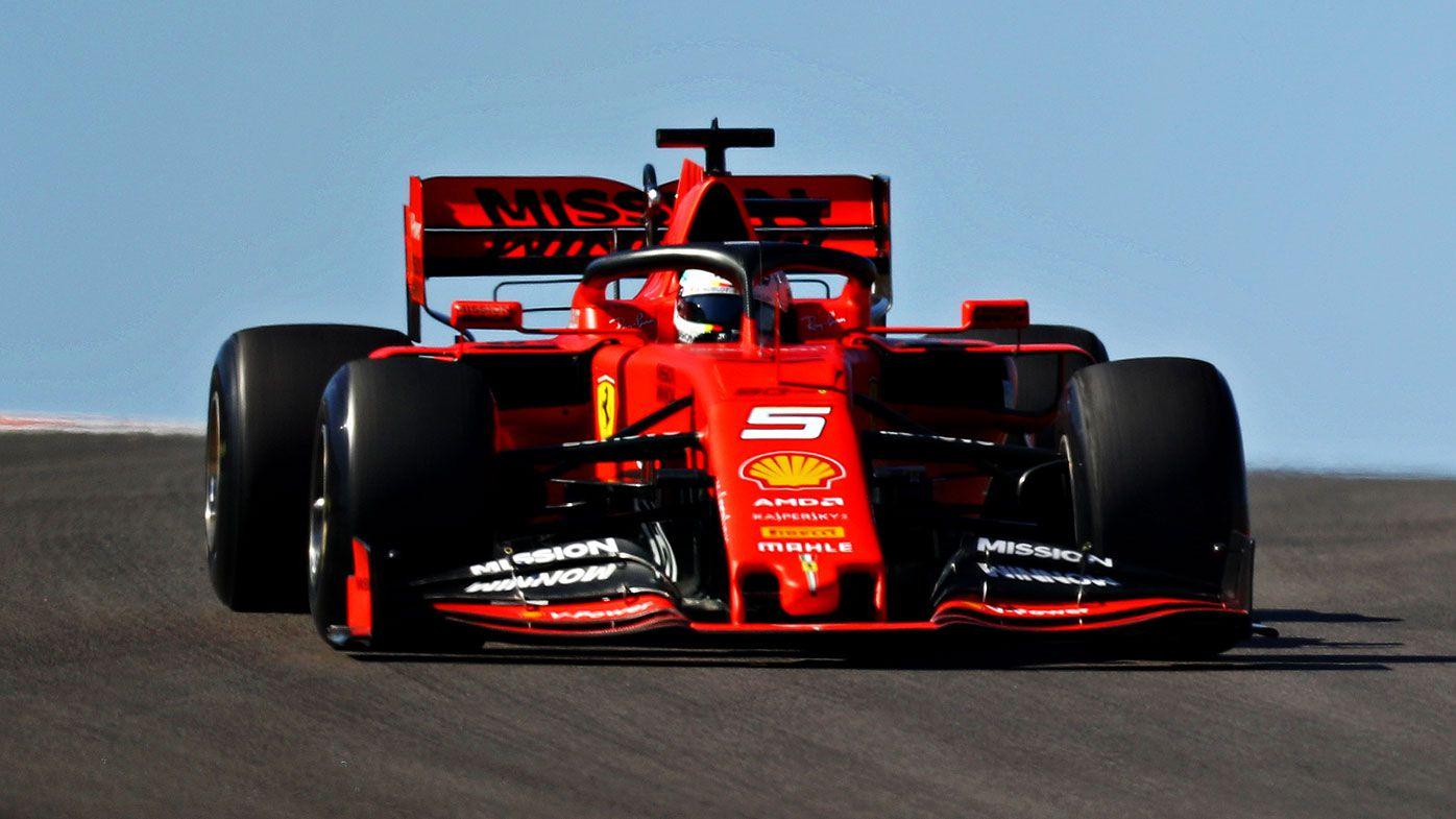 Sebastian Vettel failed to finish in Texas.