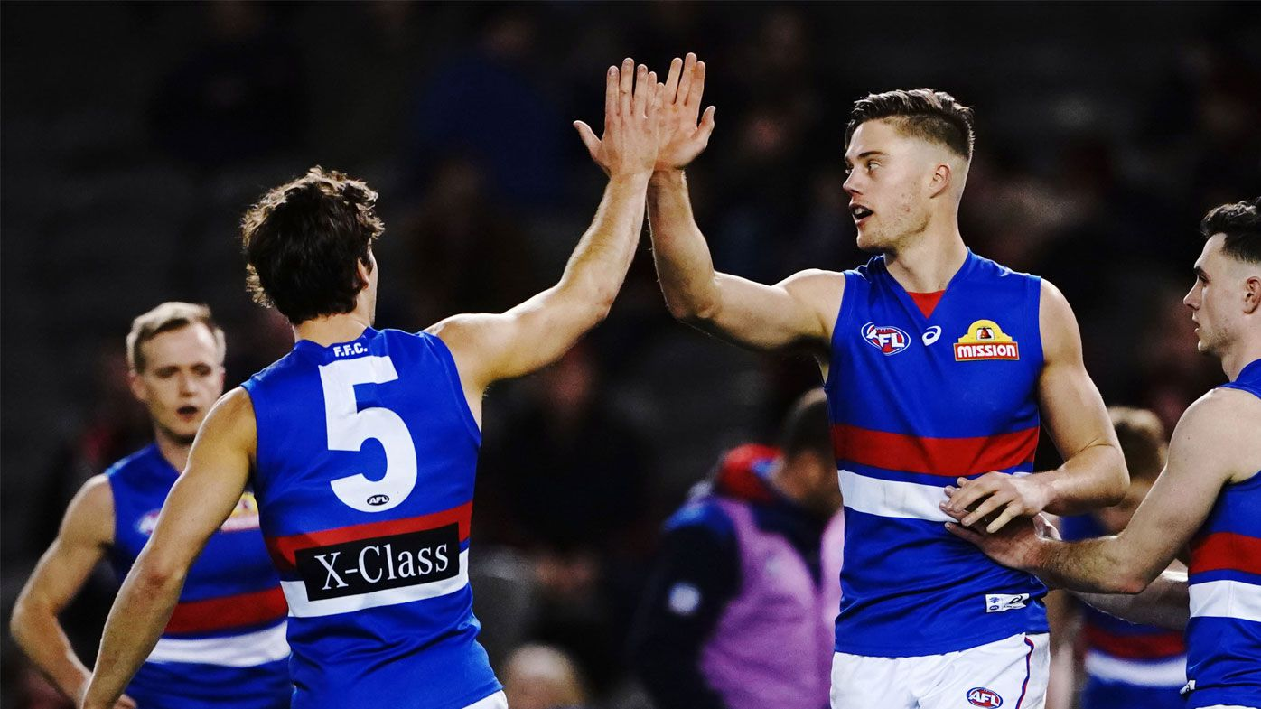 Bombers embarrassed by Bulldogs in AFL blitz