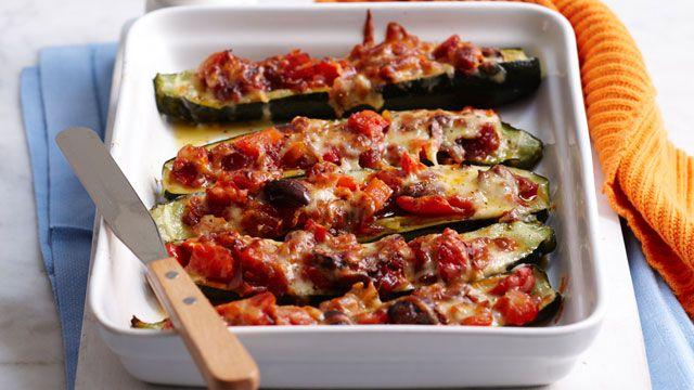 Ratatouille zucchini melts