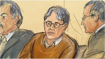 Kieth Raniere is on trial for forcing women into sex slavery and branding them as part of his cult-like organisation NXIVM.